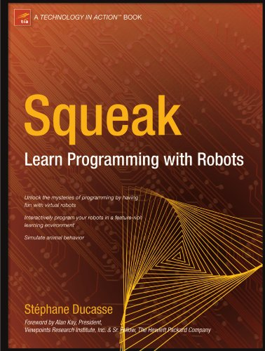 Large book cover: Squeak: Learn Programming with Robots