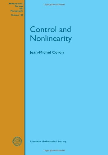 Large book cover: Control and Nonlinearity
