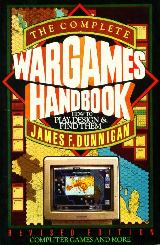 Large book cover: The Complete Wargames Handbook