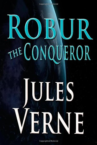Large book cover: Robur the Conqueror