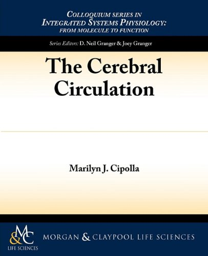 Large book cover: The Cerebral Circulation