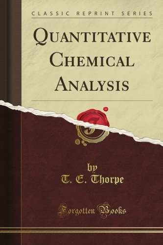 Quantitative Chemical Analysis  Download Link