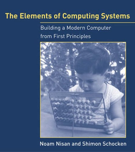 Large book cover: The Elements of Computing Systems
