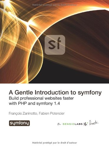 Large book cover: A Gentle Introduction to symfony