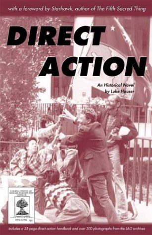 Large book cover: Direct Action: An Historical Novel