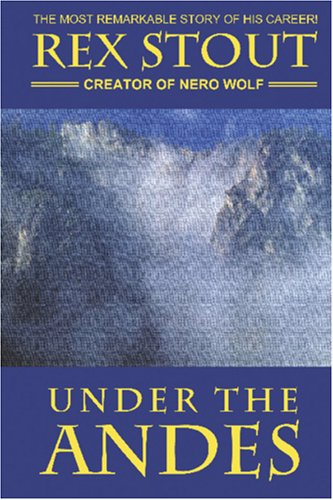 Large book cover: Under the Andes