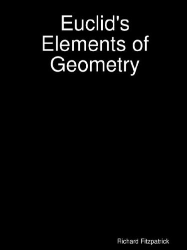 Euclid's Elements of Geometry - Download link