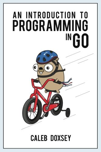 Large book cover: An Introduction to Programming in Go