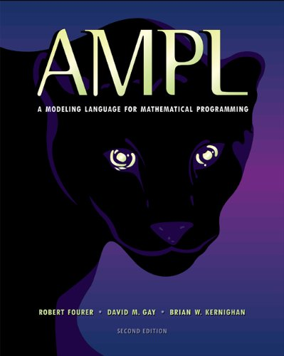 Large book cover: AMPL: A Modeling Language for Mathematical Programming