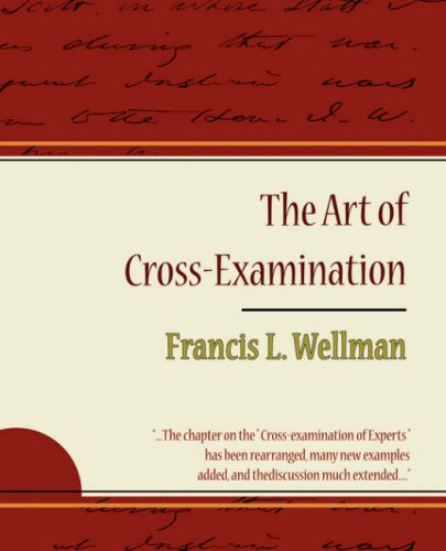 Large book cover: The Art of Cross-Examination