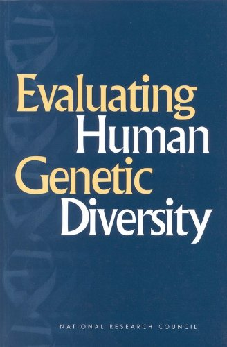 Large book cover: Evaluating Human Genetic Diversity