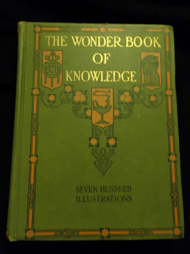Large book cover: The Wonder Book of Knowledge