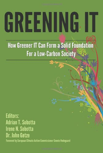 Large book cover: Greening IT