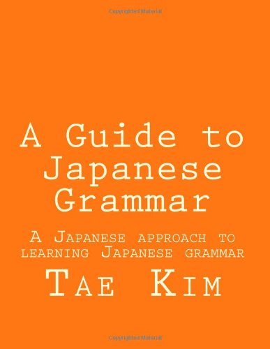 Japanese Grammar Book Pdf