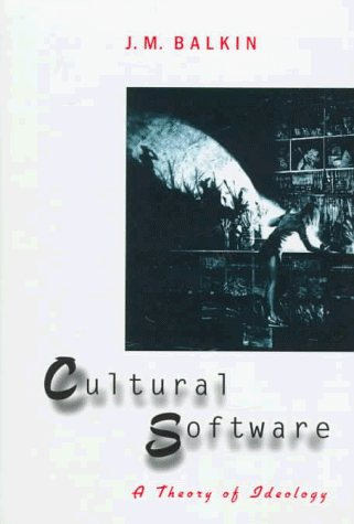 Large book cover: Cultural Software: A Theory of Ideology