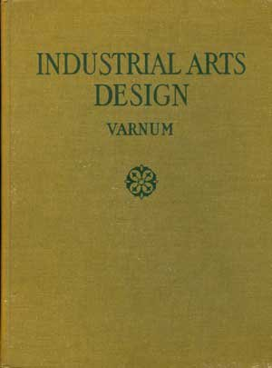 Large book cover: Industrial Arts Design