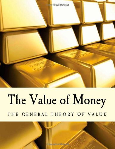 Large book cover: The Value of Money