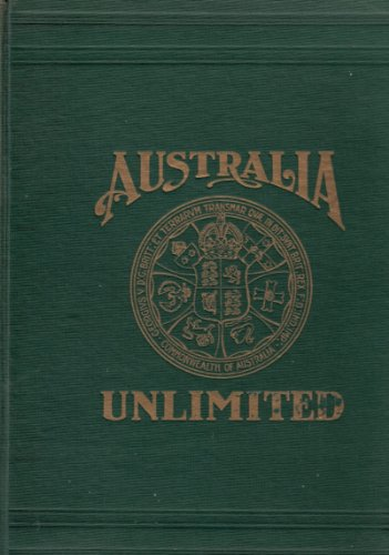 Large book cover: Australia Unlimited