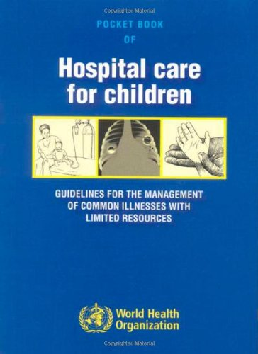 Large book cover: Pocket Book of Hospital Care for Children