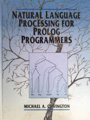 Large book cover: Natural Language Processing for Prolog Programmers