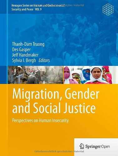 Large book cover: Migration, Gender and Social Justice