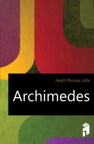 Large book cover: Archimedes