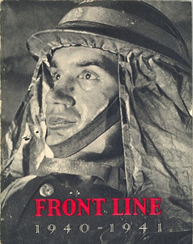 Large book cover: Front Line 1940-41: The Official Story of the Civil Defence of Britain