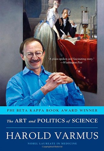 Large book cover: The Art and Politics of Science
